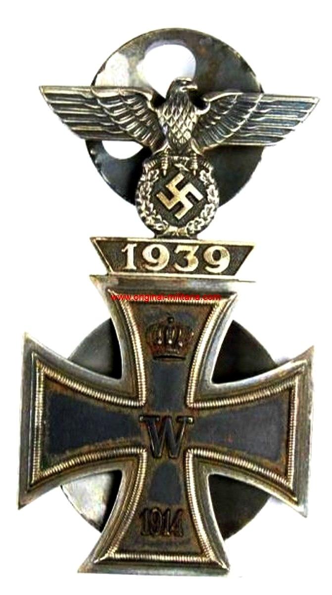 WH/ Spange de 1ª Clase 1939 con EK 1, 1914